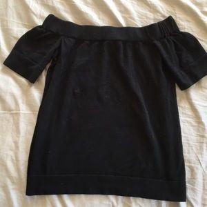 The Limited Black Off-Shoulder Top